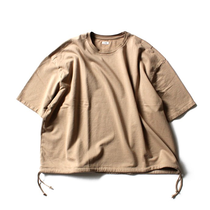 128495542 blurhms / French Terry Huge Tee BHS-18SS021 - Beige<img class='new_mark_img2' src='//img.shop-pro.jp/img/new/icons47.gif' style='border:none;display:inline;margin:0px;padding:0px;width:auto;' /> 02