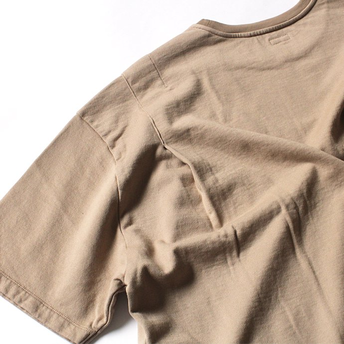 blurhms French Terry Huge Tee BHS-18SS021 - Beige 02