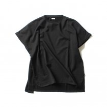 blurhms French Terry Cut Off Box Tee BHS-18SS022 - Black