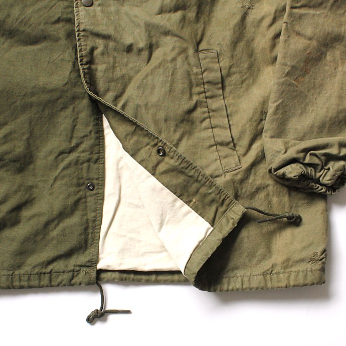 128655290 Hexico / DEFORMER EX. U.S. ARMY TENT テント素材コーチジャケット - 02<img class='new_mark_img2' src='//img.shop-pro.jp/img/new/icons47.gif' style='border:none;display:inline;margin:0px;padding:0px;width:auto;' /> 02
