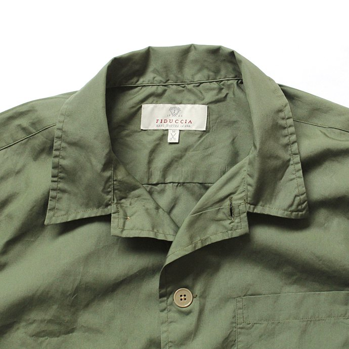 Other Brands Fiduccia / Shirts Jacket シャツジャケット - オリーブ 02