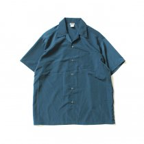 Other Brands CalTop / 3003 オープンカラーシャツ - Sage Blue