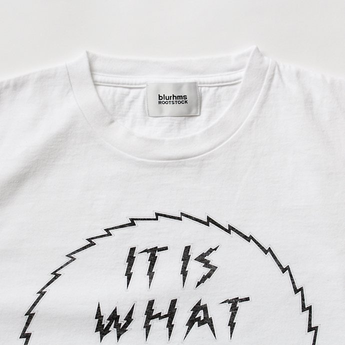 129175883 blurhms ROOTSTOCK / IT IS WHAT IT IS Tee BHS-RKSS1710018E - White 02