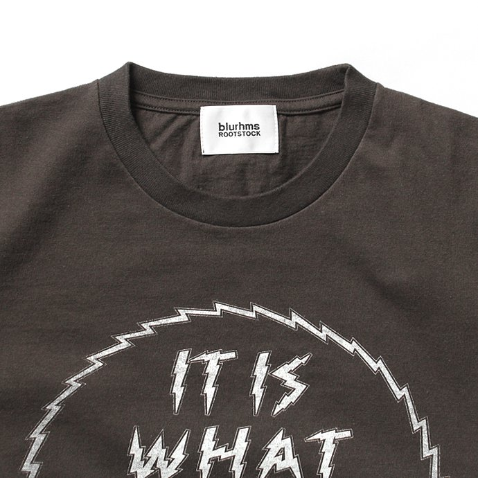 129175912 blurhms ROOTSTOCK / IT IS WHAT IT IS Tee BHS-RKSS1710018E - Ash Black<img class='new_mark_img2' src='//img.shop-pro.jp/img/new/icons47.gif' style='border:none;display:inline;margin:0px;padding:0px;width:auto;' /> 02