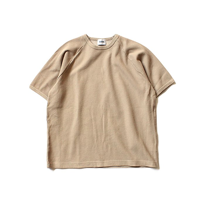129322244 blurhms ROOTSTOCK / Rough & Smooth Thermal Loose Fit Tee BHS-RKSS17008 - Beige<img class='new_mark_img2' src='//img.shop-pro.jp/img/new/icons47.gif' style='border:none;display:inline;margin:0px;padding:0px;width:auto;' /> 01