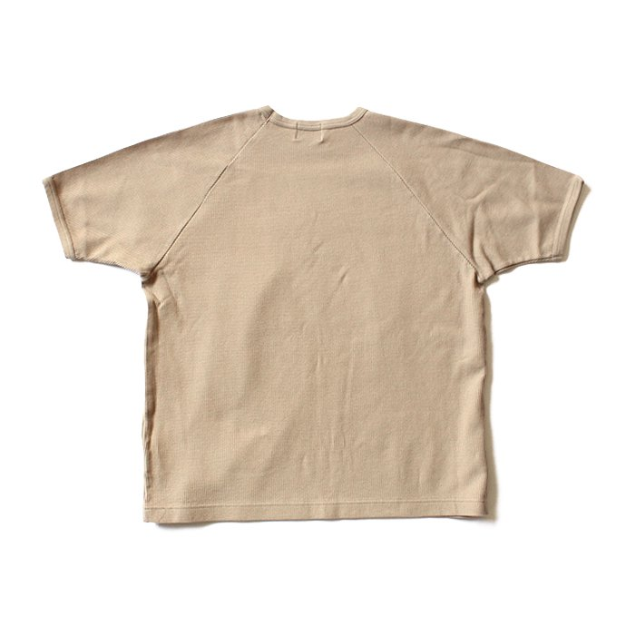 129322244 blurhms ROOTSTOCK / Rough & Smooth Thermal Loose Fit Tee BHS-RKSS17008 - Beige<img class='new_mark_img2' src='//img.shop-pro.jp/img/new/icons47.gif' style='border:none;display:inline;margin:0px;padding:0px;width:auto;' /> 02