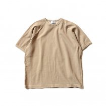 blurhms ROOTSTOCK / Rough & Smooth Thermal Loose Fit Tee BHS-RKSS17008 - Beige<img class='new_mark_img2' src='//img.shop-pro.jp/img/new/icons47.gif' style='border:none;display:inline;margin:0px;padding:0px;width:auto;' />