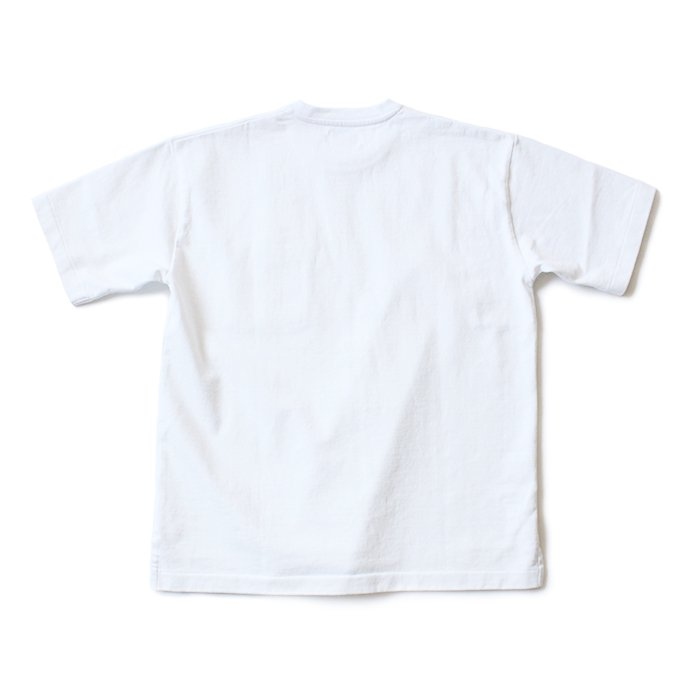 129322486 blurhms ROOTSTOCK / Heavyweight & Soft Loose Fit Pocket Tee BHS-RKSS17016 - White 02