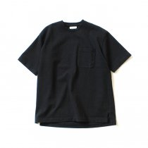 blurhms ROOTSTOCK / Heavyweight & Soft Loose Fit Pocket Tee BHS-RKSS17016 - Black