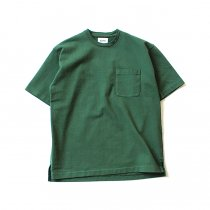blurhms Heavyweight & Soft Loose Fit Pocket Tee BHS-RKSS17016 - Forest