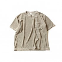 blurhms Linen Pile Pocket Tee BHS-18SS018 - Ash Beige<img class='new_mark_img2' src='//img.shop-pro.jp/img/new/icons47.gif' style='border:none;display:inline;margin:0px;padding:0px;width:auto;' />