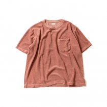 blurhms Linen Pile Pocket Tee BHS-18SS018 - Ash Pink<img class='new_mark_img2' src='//img.shop-pro.jp/img/new/icons47.gif' style='border:none;display:inline;margin:0px;padding:0px;width:auto;' />