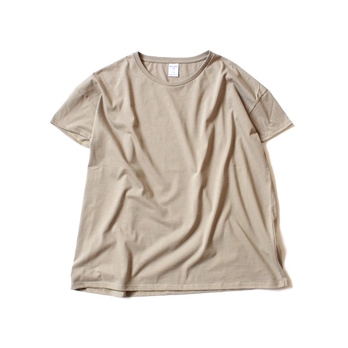 129402169 quotidien コティディアン / AV15005 オーバーサイズTシャツ - Beige<img class='new_mark_img2' src='//img.shop-pro.jp/img/new/icons47.gif' style='border:none;display:inline;margin:0px;padding:0px;width:auto;' /> 01
