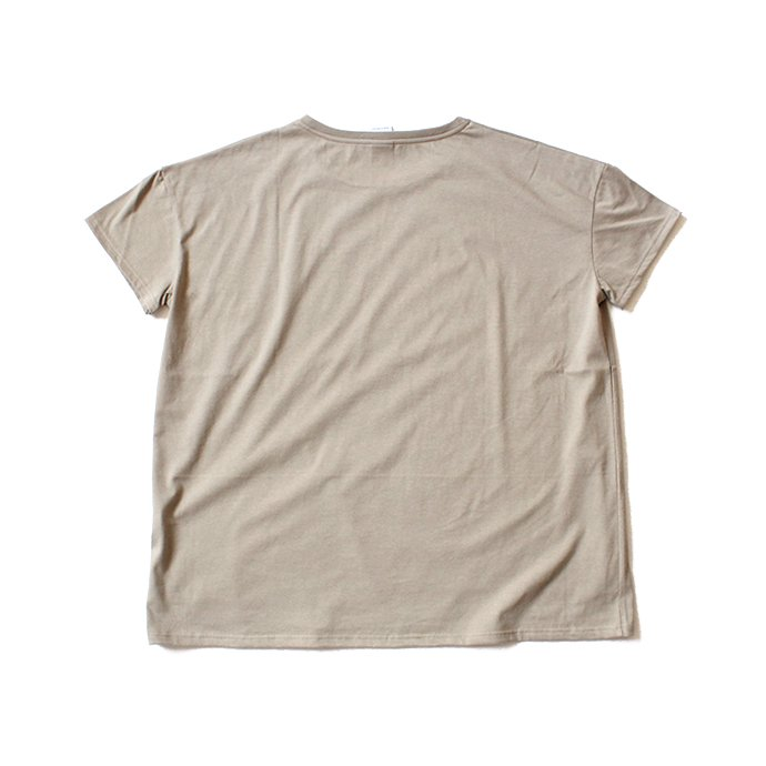 129402169 quotidien コティディアン / AV15005 オーバーサイズTシャツ - Beige<img class='new_mark_img2' src='//img.shop-pro.jp/img/new/icons47.gif' style='border:none;display:inline;margin:0px;padding:0px;width:auto;' /> 02
