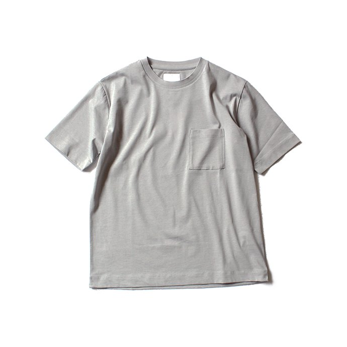 129452706 STILL BY HAND / リンガー ポケットTシャツ CS0381 - グレー<img class='new_mark_img2' src='//img.shop-pro.jp/img/new/icons47.gif' style='border:none;display:inline;margin:0px;padding:0px;width:auto;' /> 01