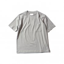 STILL BY HAND / リンガー ポケットTシャツ CS0381 - グレー<img class='new_mark_img2' src='//img.shop-pro.jp/img/new/icons47.gif' style='border:none;display:inline;margin:0px;padding:0px;width:auto;' />