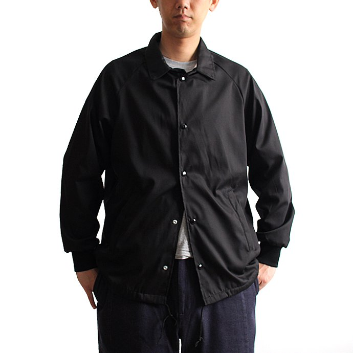 129551383 ASW Jackets / ポプリン コーチジャケット - Black<img class='new_mark_img2' src='//img.shop-pro.jp/img/new/icons47.gif' style='border:none;display:inline;margin:0px;padding:0px;width:auto;' /> 01