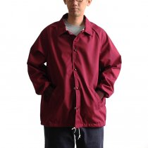 Other Brands ASW Jackets / ポプリン コーチジャケット - Maroon