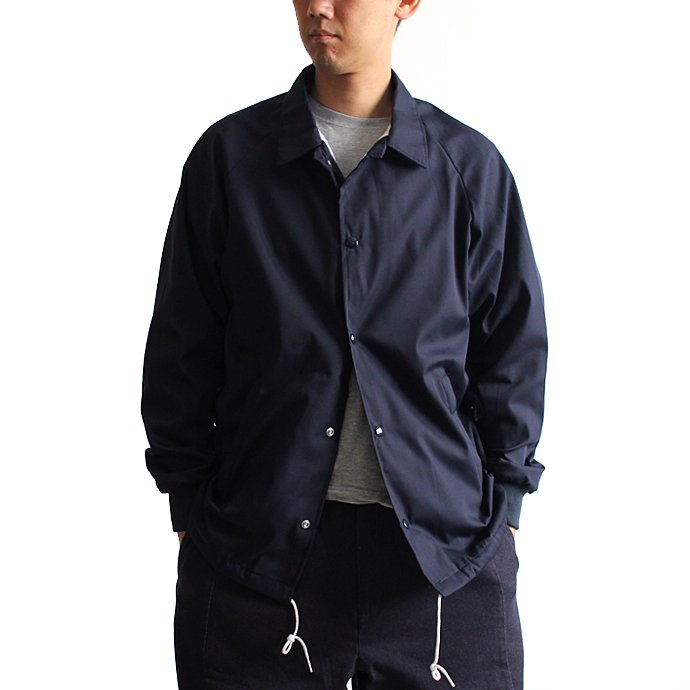129551473 ASW Jackets / ポプリン コーチジャケット - Navy<img class='new_mark_img2' src='//img.shop-pro.jp/img/new/icons47.gif' style='border:none;display:inline;margin:0px;padding:0px;width:auto;' /> 01