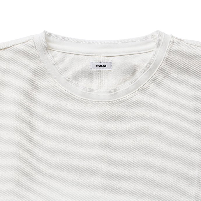129588712 blurhms / Seed Stitch Tee BHS-18SS025 - Off<img class='new_mark_img2' src='//img.shop-pro.jp/img/new/icons47.gif' style='border:none;display:inline;margin:0px;padding:0px;width:auto;' /> 02
