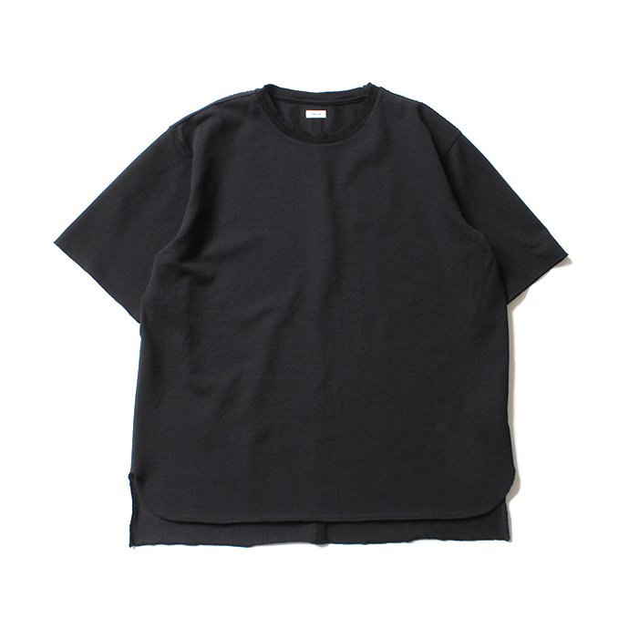 blurhms Seed Stitch Tee BHS-18SS025 - Black<img class='new_mark_img2' src='//img.shop-pro.jp/img/new/icons47.gif' style='border:none;display:inline;margin:0px;padding:0px;width:auto;' /> 01