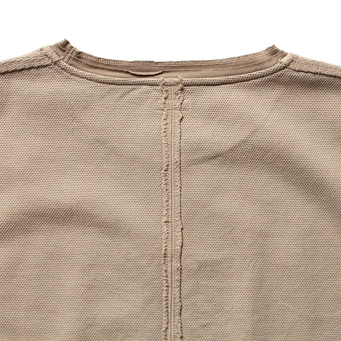 129588975 blurhms / Seed Stitch Tee BHS-18SS025 - Beige<img class='new_mark_img2' src='//img.shop-pro.jp/img/new/icons47.gif' style='border:none;display:inline;margin:0px;padding:0px;width:auto;' /> 02