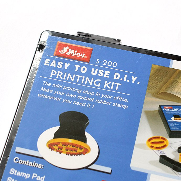 Other Brands Shiny / S-200 Easy to Use DIY Printing Kit プリンティングキット 02
