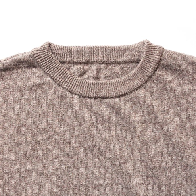 130069196 crepuscule / linen S/S knit リネン半袖ニット 1801-010 - Brown<img class='new_mark_img2' src='//img.shop-pro.jp/img/new/icons47.gif' style='border:none;display:inline;margin:0px;padding:0px;width:auto;' /> 02
