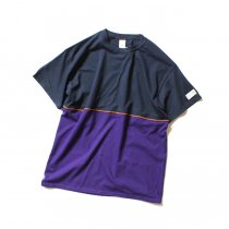 Other Brands IKEDR / C Working Tee - FD ネイビー/パープル