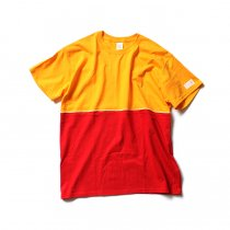 Other Brands IKEDR / C Working Tee - DH イエロー/レッド