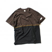 Other Brands IKEDR / C Working Tee - UP ブラウン/ブラック