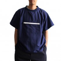 Powderhorn Mountaineering Nylon Mountain Tee ナイロンプルオーバーTシャツ PH18SS-002 - ネイビー