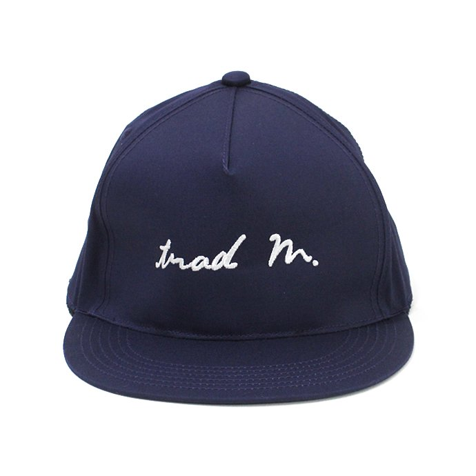 130447630 Trad Marks / trad m. Signature Logo Cap - Navy シグネチャーロゴキャップ ネイビー<img class='new_mark_img2' src='//img.shop-pro.jp/img/new/icons47.gif' style='border:none;display:inline;margin:0px;padding:0px;width:auto;' /> 01