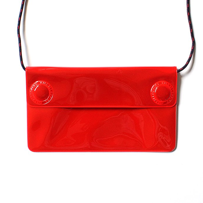 O- O-(オー)/ WATER PROOF WALLET リフレクター素材ポーチ O-S-12 Red 02