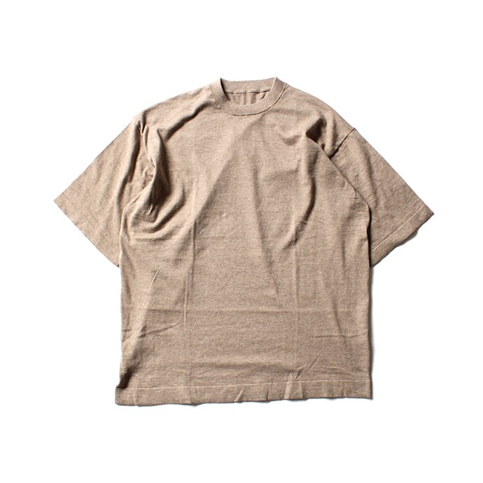 crepuscule knit tee S/S ニットTシャツ 1801-008 - Beige<img class='new_mark_img2' src='//img.shop-pro.jp/img/new/icons47.gif' style='border:none;display:inline;margin:0px;padding:0px;width:auto;' /> 01