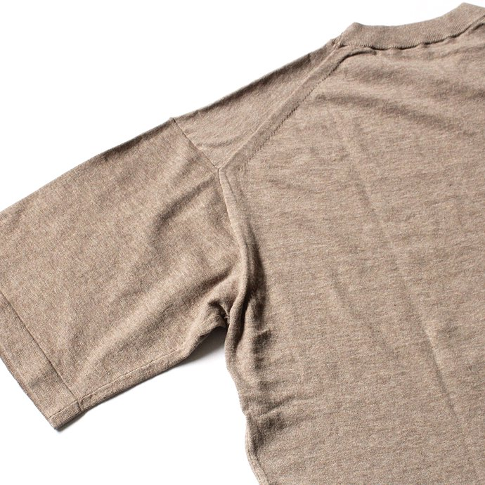 crepuscule knit tee S/S ニットTシャツ 1801-008 - Beige<img class='new_mark_img2' src='//img.shop-pro.jp/img/new/icons47.gif' style='border:none;display:inline;margin:0px;padding:0px;width:auto;' /> 02