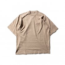 crepuscule knit tee S/S ニットTシャツ 1801-008 - Beige<img class='new_mark_img2' src='//img.shop-pro.jp/img/new/icons47.gif' style='border:none;display:inline;margin:0px;padding:0px;width:auto;' />