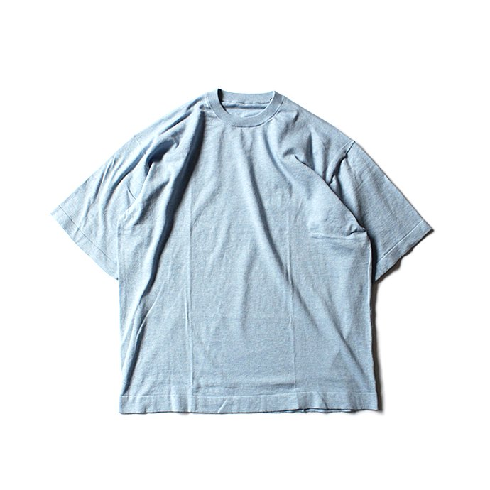 130593400 crepuscule / knit tee S/S ニットTシャツ 1801-008 - Sax<img class='new_mark_img2' src='//img.shop-pro.jp/img/new/icons47.gif' style='border:none;display:inline;margin:0px;padding:0px;width:auto;' /> 01