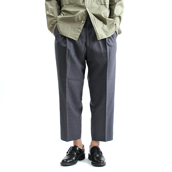 131248219 CEASTERS / 1P Summer Wool Easy Trousers 1タックサマーウールパンツ - L.Grey<img class='new_mark_img2' src='//img.shop-pro.jp/img/new/icons47.gif' style='border:none;display:inline;margin:0px;padding:0px;width:auto;' /> 01