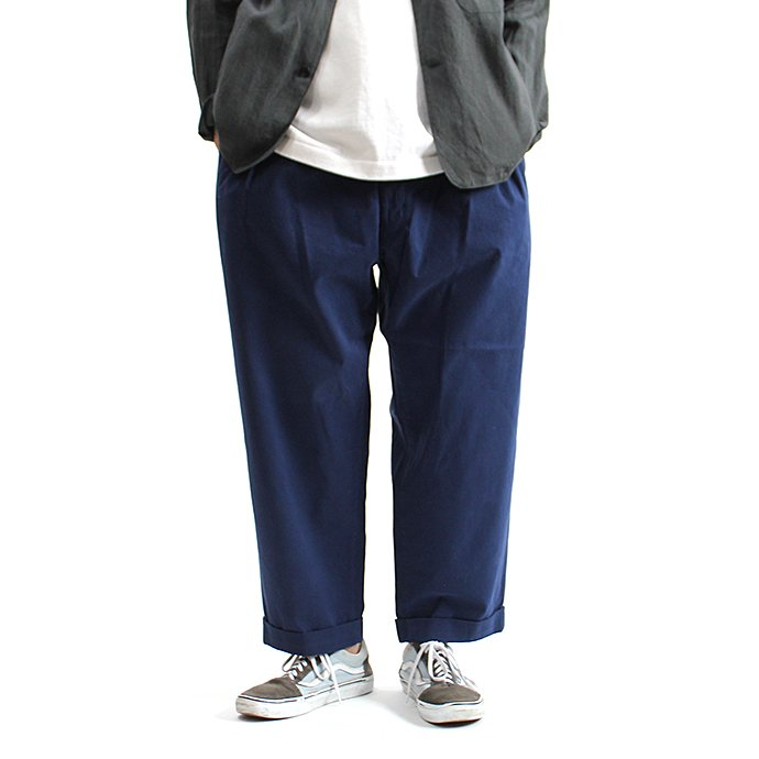 131248399 CEASTERS / Mod. Twill 2 Pleats Trousers 2タックツイルパンツ - Navy<img class='new_mark_img2' src='//img.shop-pro.jp/img/new/icons47.gif' style='border:none;display:inline;margin:0px;padding:0px;width:auto;' /> 01