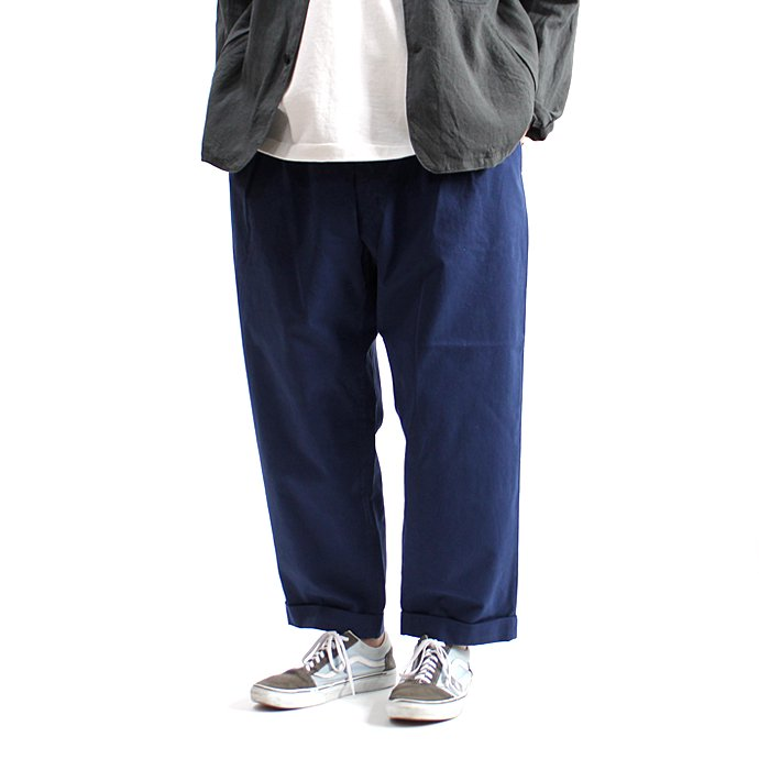 131248399 CEASTERS / Mod. Twill 2 Pleats Trousers 2タックツイルパンツ - Navy<img class='new_mark_img2' src='//img.shop-pro.jp/img/new/icons47.gif' style='border:none;display:inline;margin:0px;padding:0px;width:auto;' /> 02