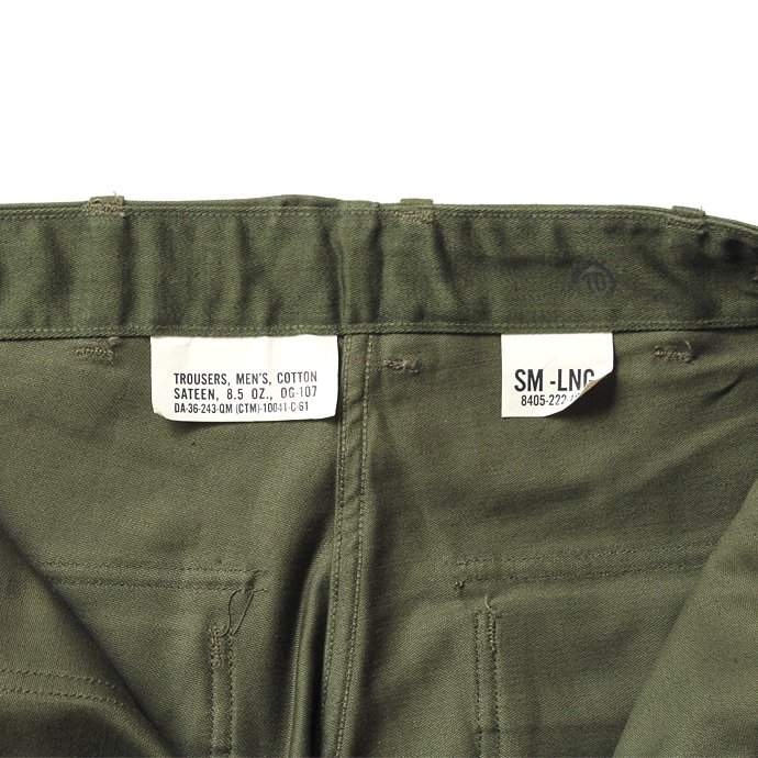 133099820 U.S. ARMY / 60s Utility Pants ユーティリティーパンツ タブ付き S-L<img class='new_mark_img2' src='//img.shop-pro.jp/img/new/icons47.gif' style='border:none;display:inline;margin:0px;padding:0px;width:auto;' /> 02