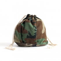 Hexico / Deformer Drawstring Bag Ex. U.S. ARMY Camouflage - リメイク巾着バッグ
