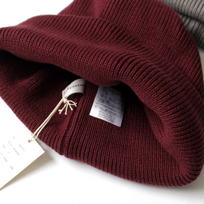 134067744 crepuscule / knit cap 2 ニットキャップ 1803-014 全6色<img class='new_mark_img2' src='//img.shop-pro.jp/img/new/icons47.gif' style='border:none;display:inline;margin:0px;padding:0px;width:auto;' /> 02