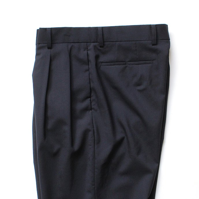 134426678 THEE(シー)/ high-rise wide trousers ハイウエストワイドトラウザーズ WT-PT-02 Navy 02