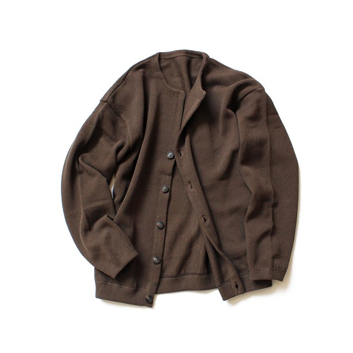 134654486 crepuscule / moss stitch cardigan 鹿の子編みカーディガン 1803-002 Brown<img class='new_mark_img2' src='//img.shop-pro.jp/img/new/icons47.gif' style='border:none;display:inline;margin:0px;padding:0px;width:auto;' /> 02