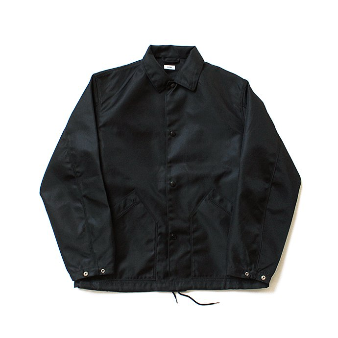 134731082 blurhms / Heavy Nylon Twill Coaches Jacket - Black BHS-18AW014<img class='new_mark_img2' src='//img.shop-pro.jp/img/new/icons47.gif' style='border:none;display:inline;margin:0px;padding:0px;width:auto;' /> 01