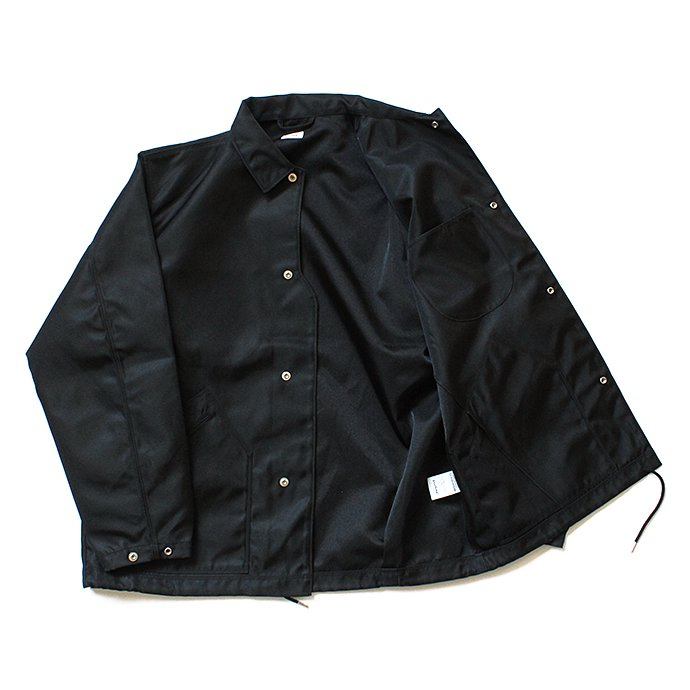 134731082 blurhms / Heavy Nylon Twill Coaches Jacket - Black BHS-18AW014<img class='new_mark_img2' src='//img.shop-pro.jp/img/new/icons47.gif' style='border:none;display:inline;margin:0px;padding:0px;width:auto;' /> 02