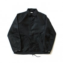 blurhms / Heavy Nylon Twill Coaches Jacket - Black BHS-18AW014<img class='new_mark_img2' src='//img.shop-pro.jp/img/new/icons47.gif' style='border:none;display:inline;margin:0px;padding:0px;width:auto;' />