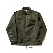 blurhms / Heavy Nylon Twill Coaches Jacket - Olive BHS-18AW014